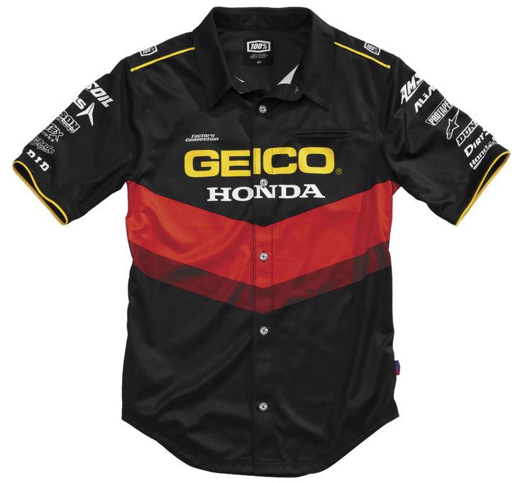 Men's Geico Honda Pilot Pit Shirt