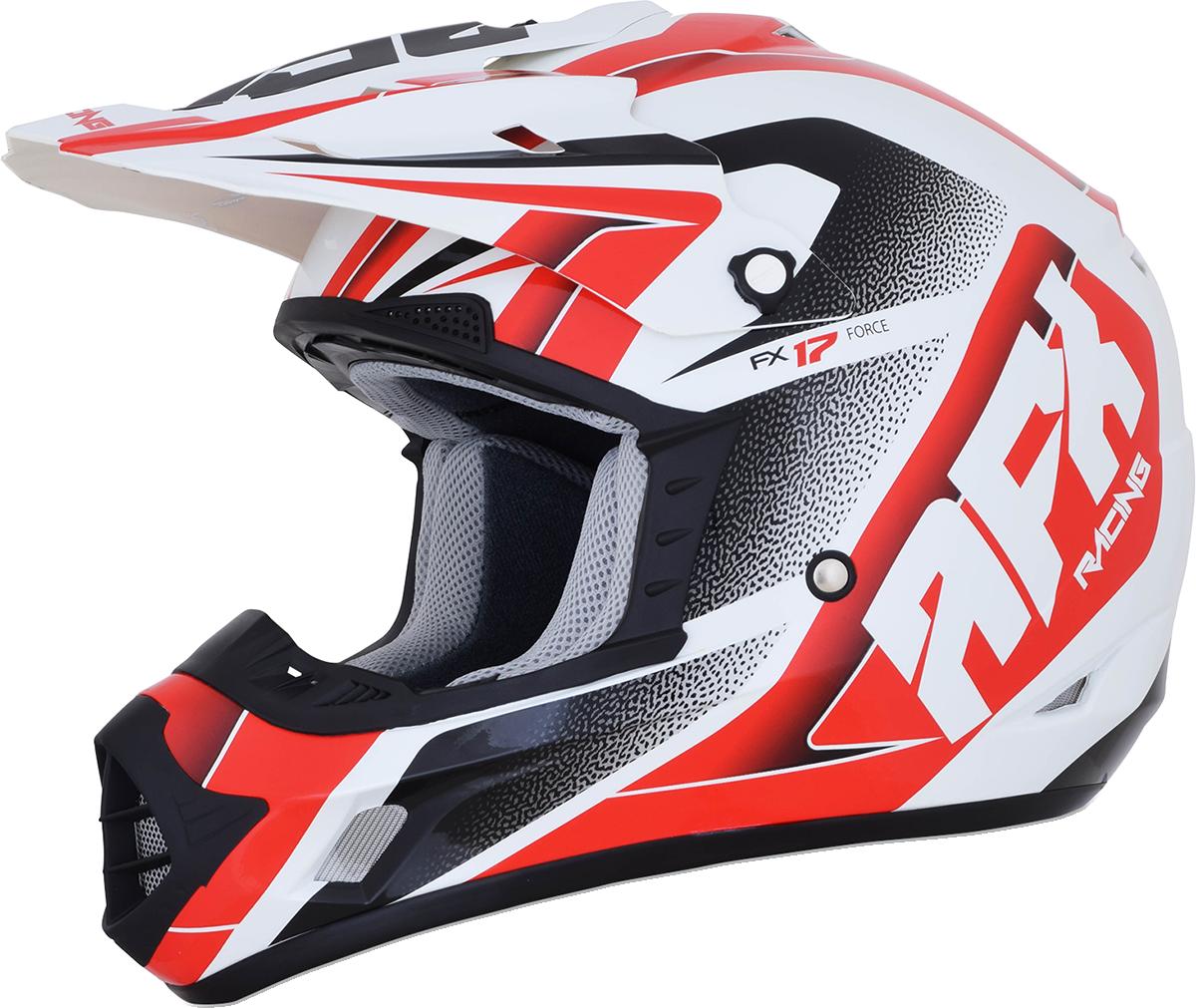 NEW AFX FX-17 Flag Helmet