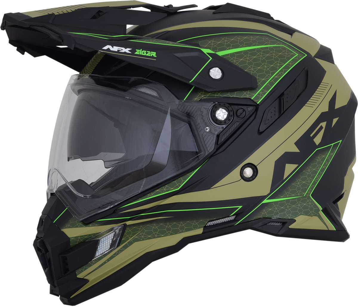 Afx motorcycle fx 41ds eiger helmet ebay for Afx templates