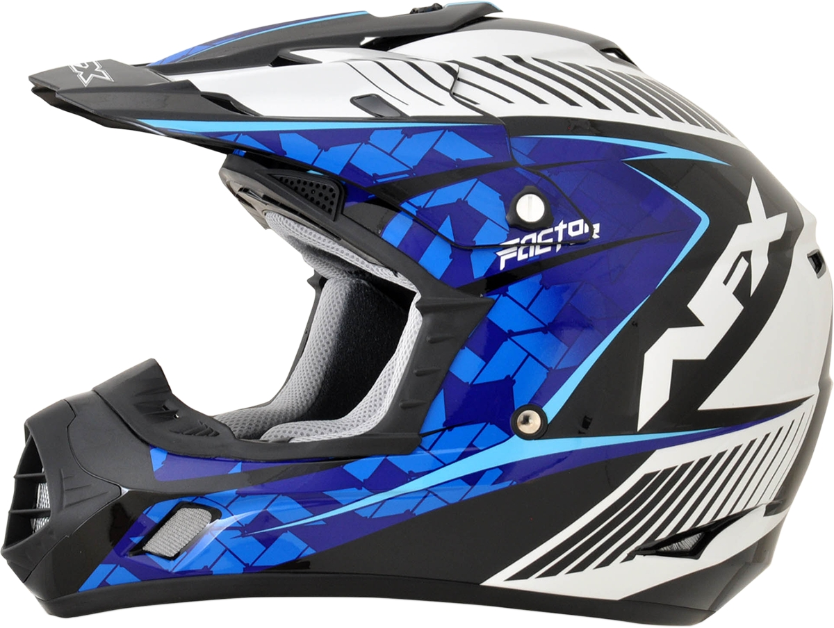 Afx motorcycle fx 17 youth comp helmet ebay for Afx templates