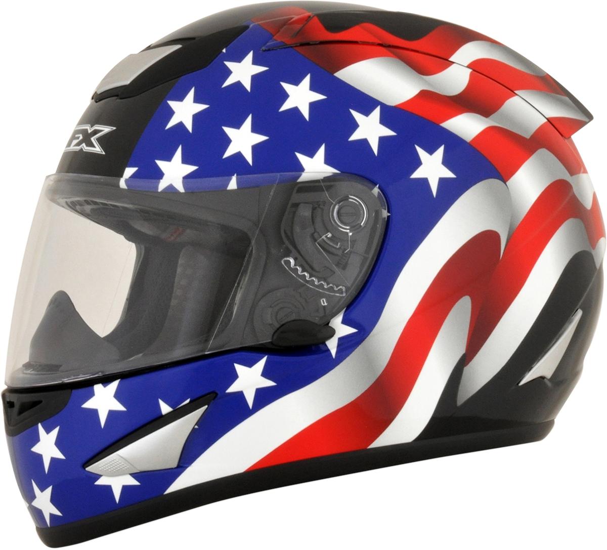 FX95 Full-Face Helmet Flag Graphics