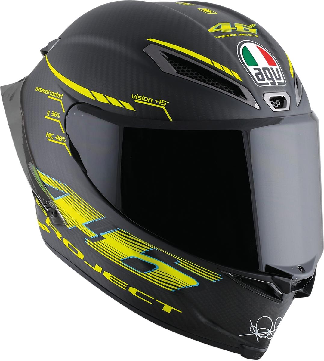 agv pista gp r carbon project 46 2 0 helmet all sizes ebay. Black Bedroom Furniture Sets. Home Design Ideas