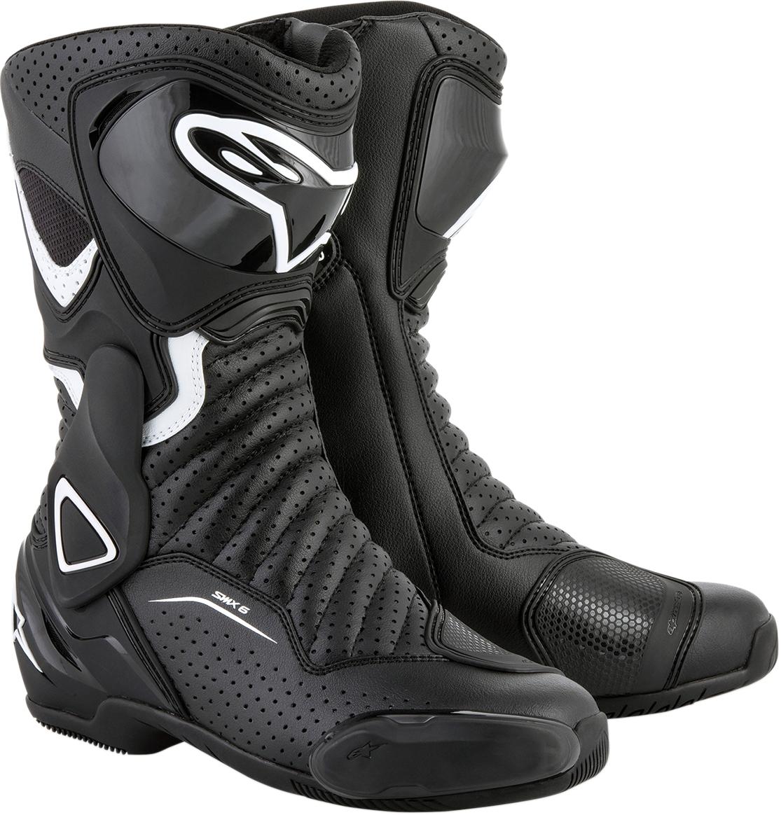Alpinestars Womens Stella SMX-6 v2 Street Motorcycle Boot Black//White,