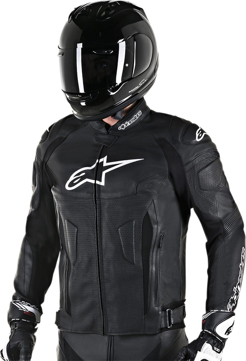 differently search for original selected material Details about Alpinestars GP Plus R V2 Airflow Leather Jacket 58 Black  3100617-10-58