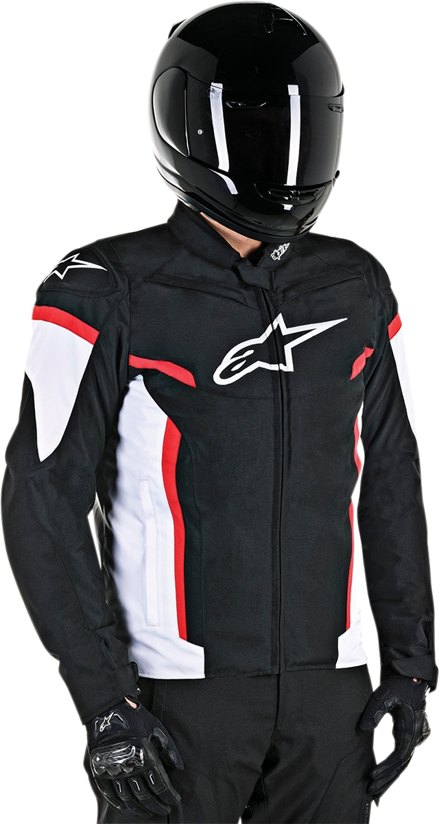 8b9e58f60d9 Details about ALPINESTARS BLACK RED WHITE T-GP PLUS R V2 AIR TEXTILE MESH  JACKET MOTORCYCLE