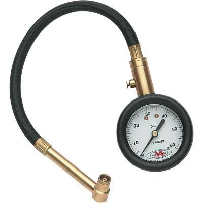 Dial Tire Gauge with Hose