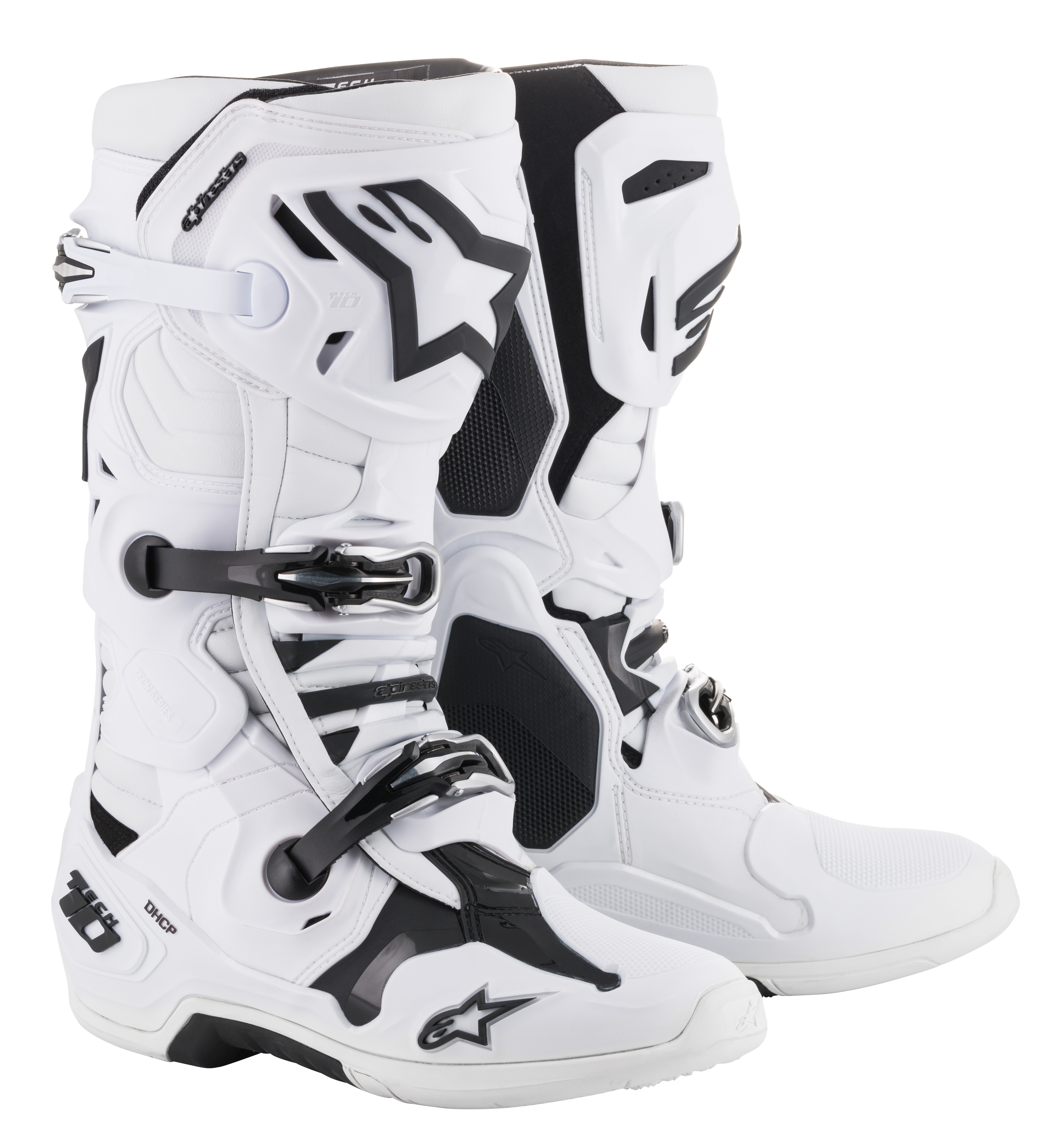 8 8021506960614 Alpinestars Tech 10 Nations Mens Off-Road Motorcycle Boots Black//Red//White