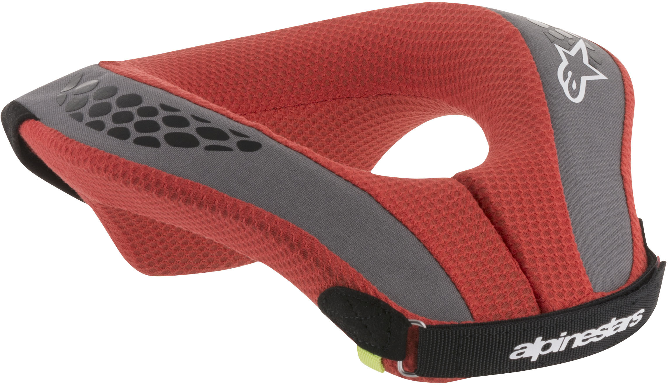 Alpinestars Sequence Neck Support Youth SM//MD Black//Red 6741018-13-S//M