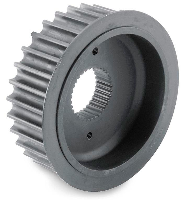 Rear Belt Drive Transmission Pulley - Power Ratio