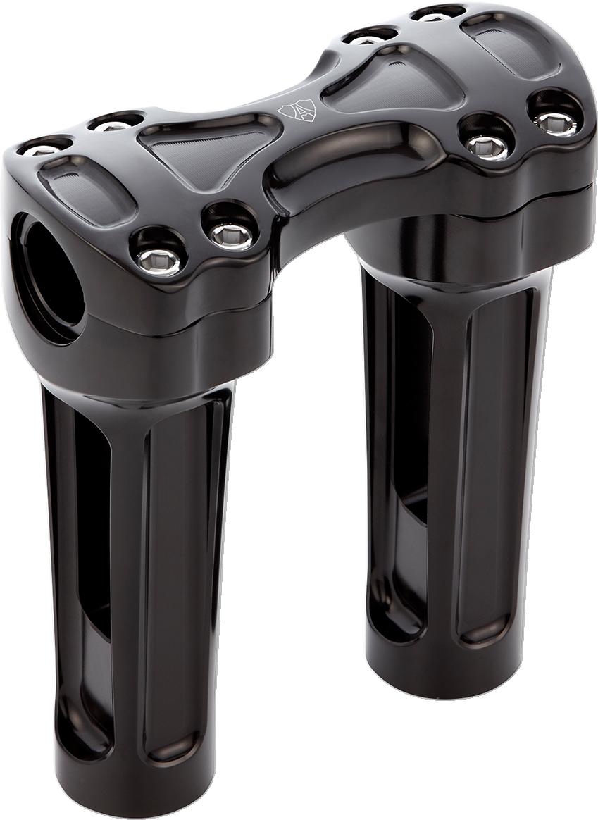 "Arlen Ness 08-065 Chrome METHOD 2.5/"" Risers 1/"" Clamp Harley-Davidson Universal"