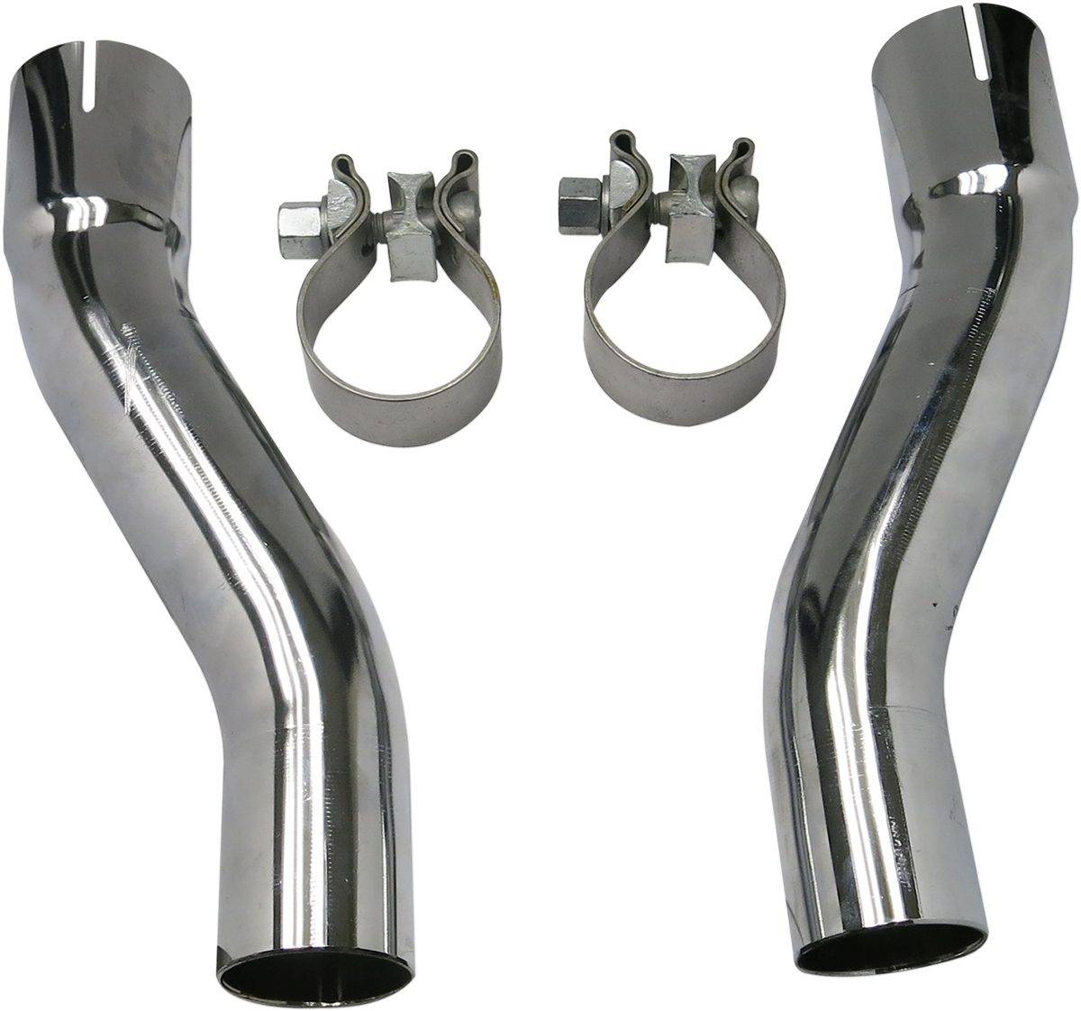 True-Dual Down Under Headpipe Adapter Kit for FL Trike Models