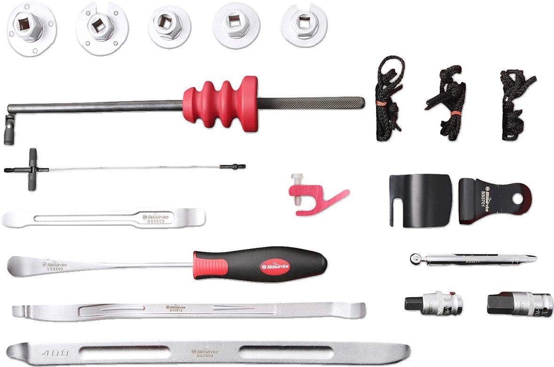 BikeService Tools 3 Pcs Rim Protector Set For Motorbike Service