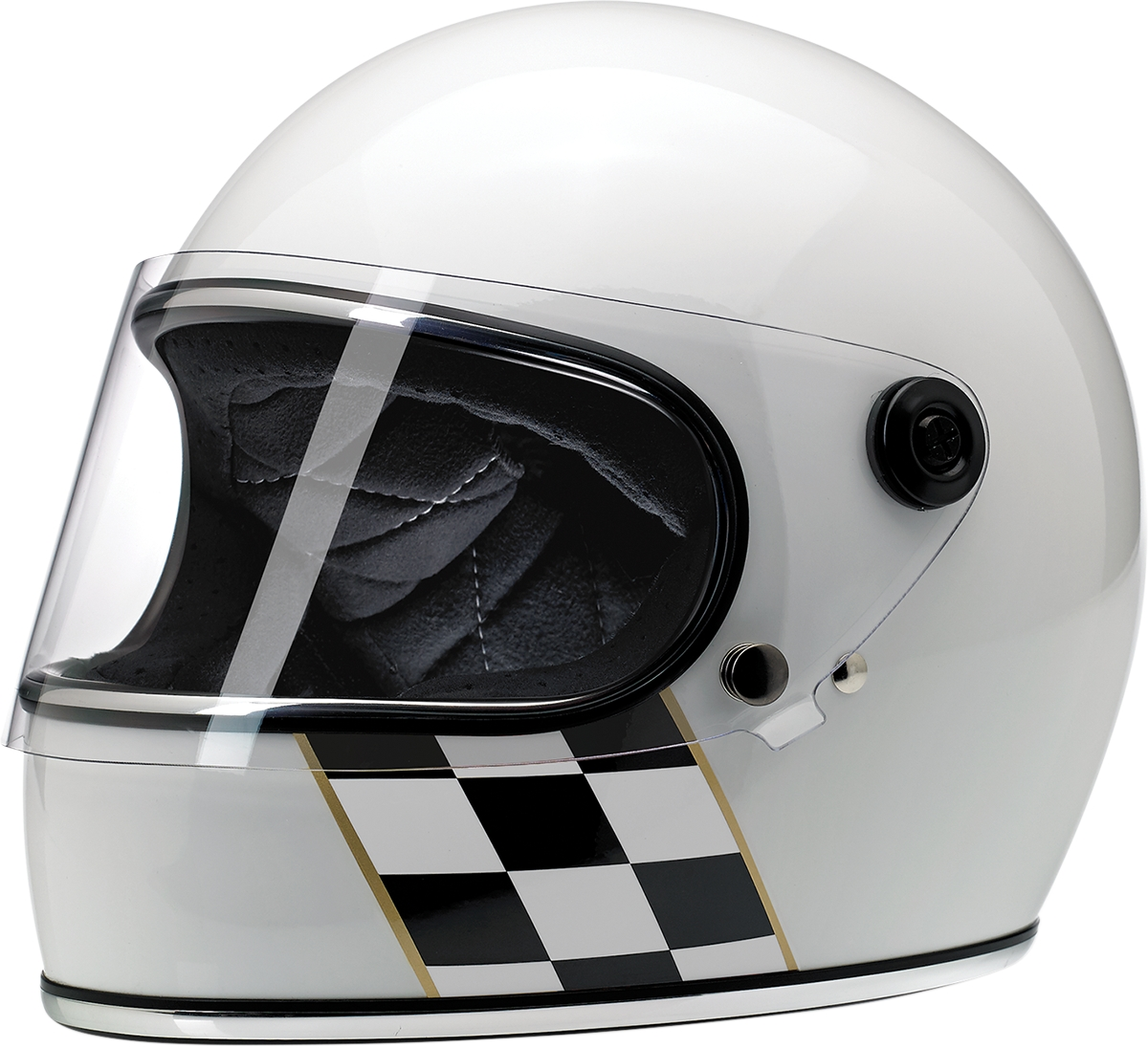 Gringo Checker Stripe Helmet