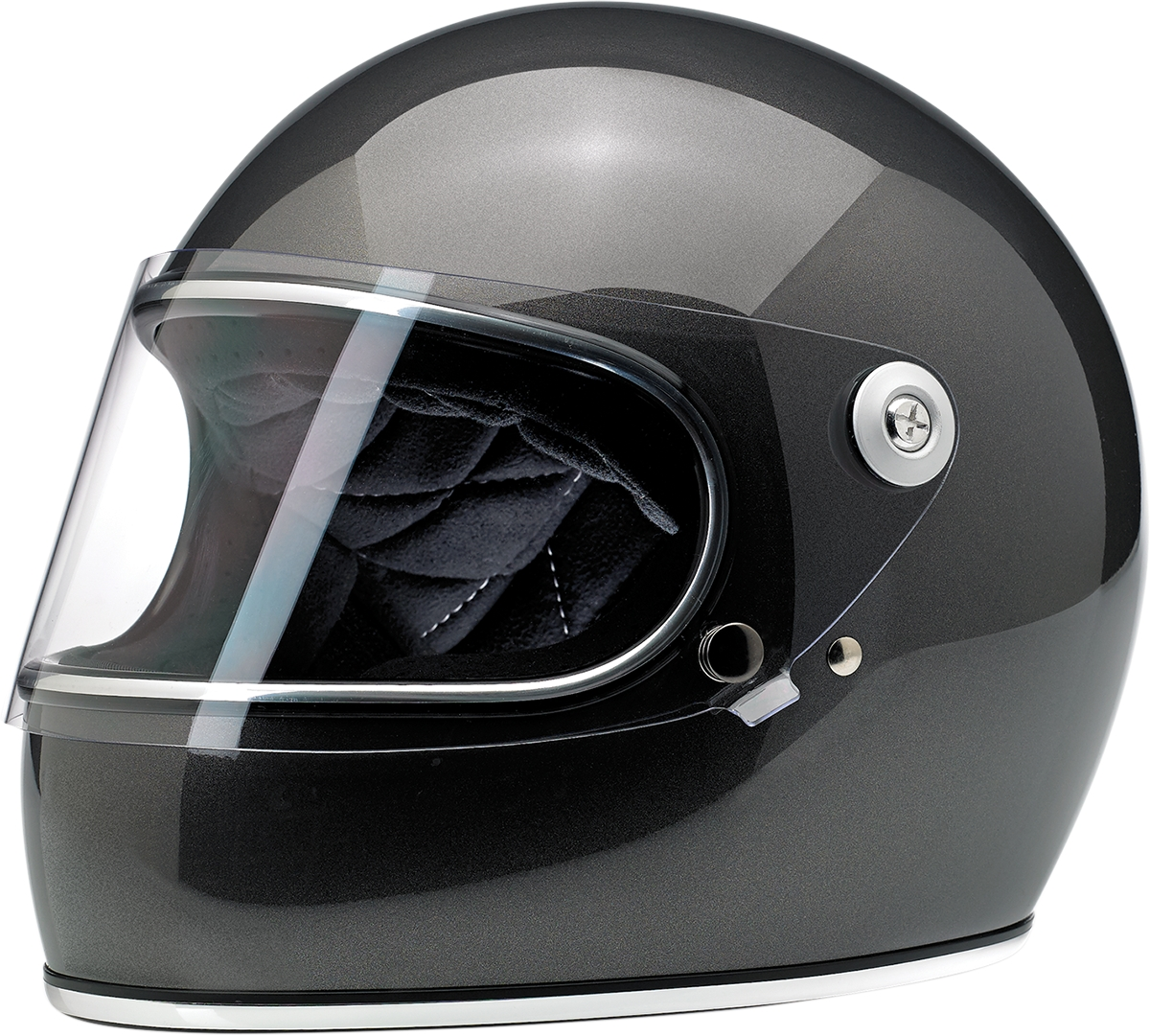 Gringo Solid Color Metalic Helmet