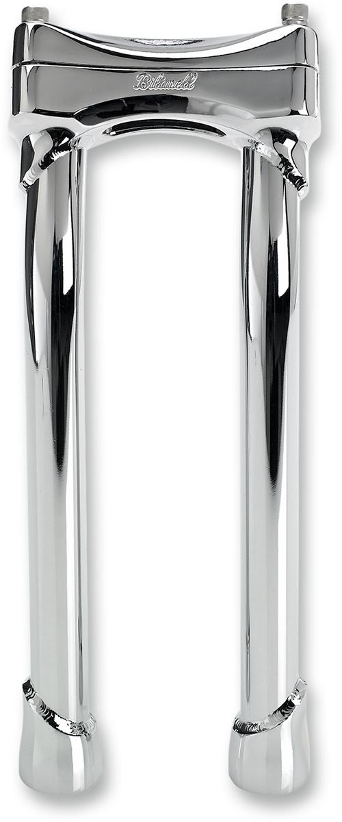 Biltwell MP-010-HD-CP 10 Murdock Pullback Risers-Chrome