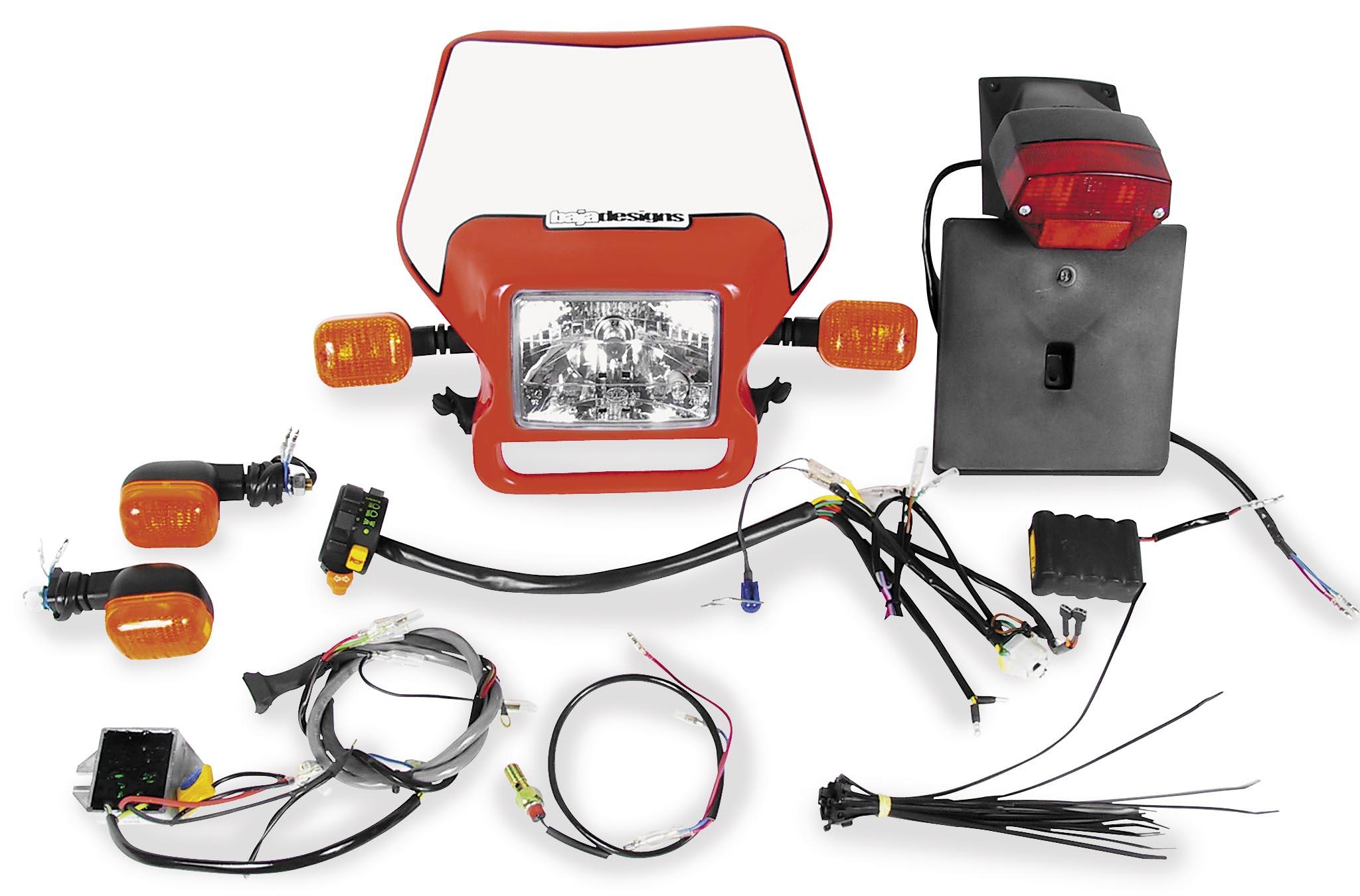 Baja Designs Dual Sport Kit Replacement Headlight Lens 60-0002 05-9064