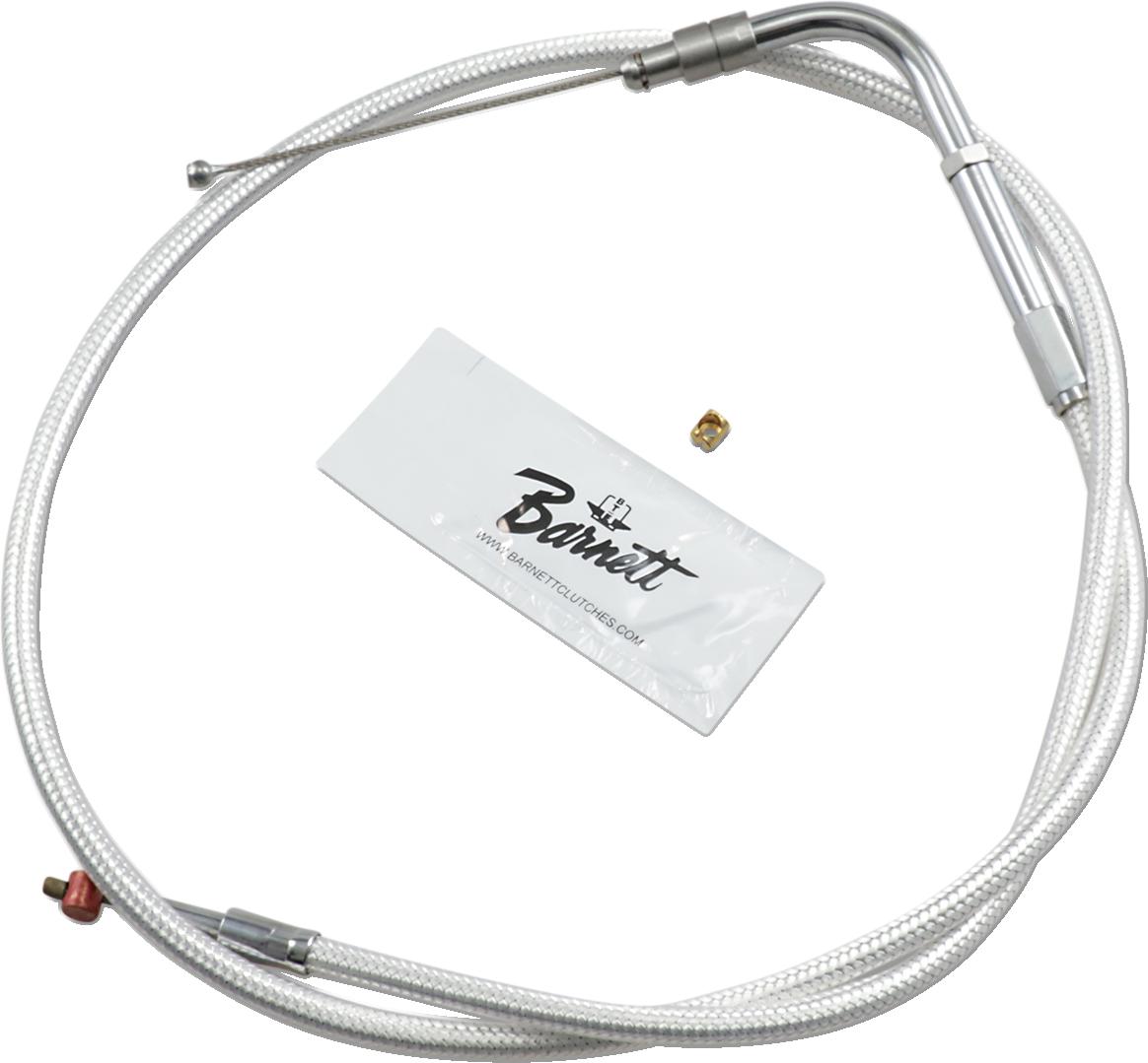 "Barnett Stainless Steel Throttle Cables Natural Plus 6/"" 102-85-30003-06"