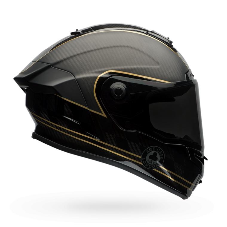 Race Star Full Face Speed Check Helmet