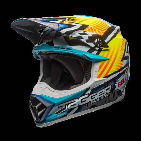 Moto 9 Mips Tagger Asymmetric Helmet