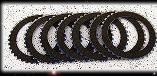 Kevlar Clutch Plates for Primary Chain Drive Systems