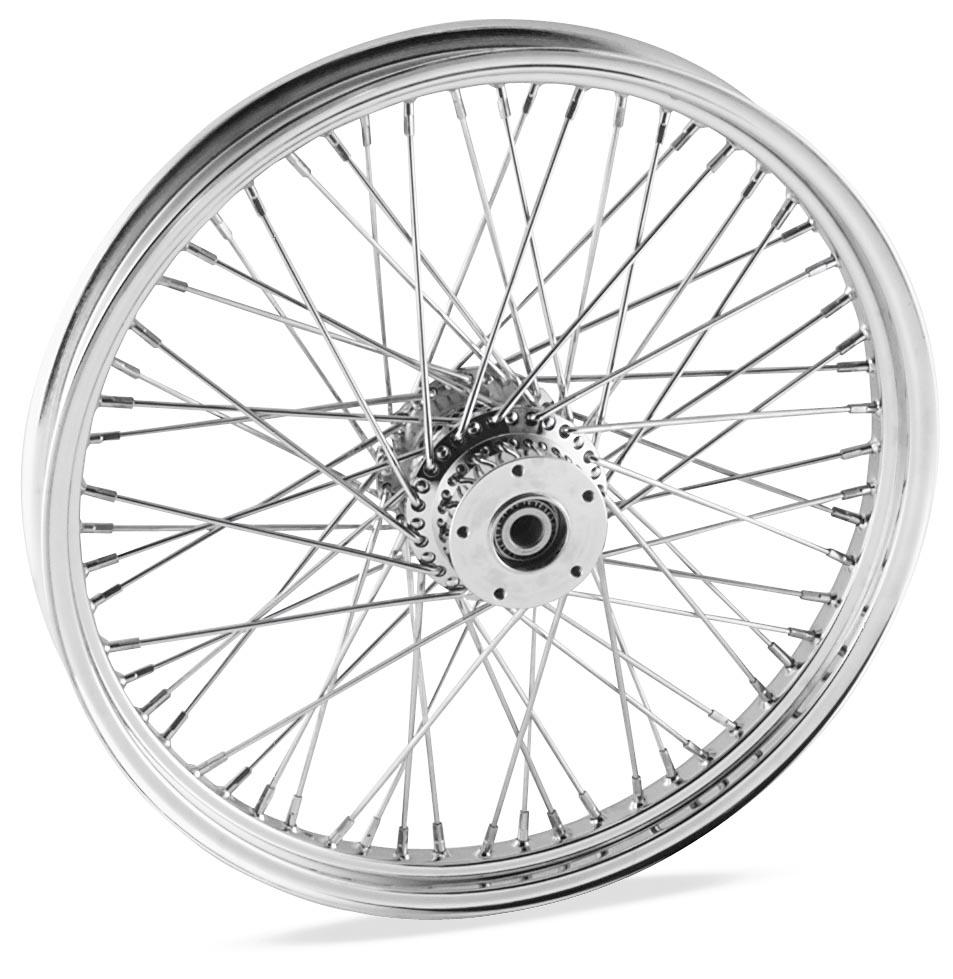 18 x 3.5in. Belt Driven Rear Wire Wheel