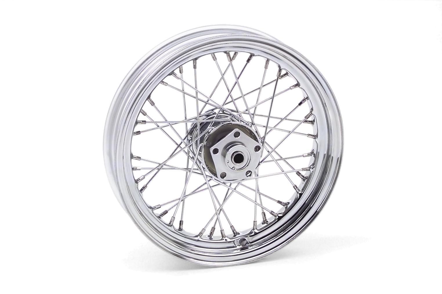 16x3.0in. Dual Flange Wheel