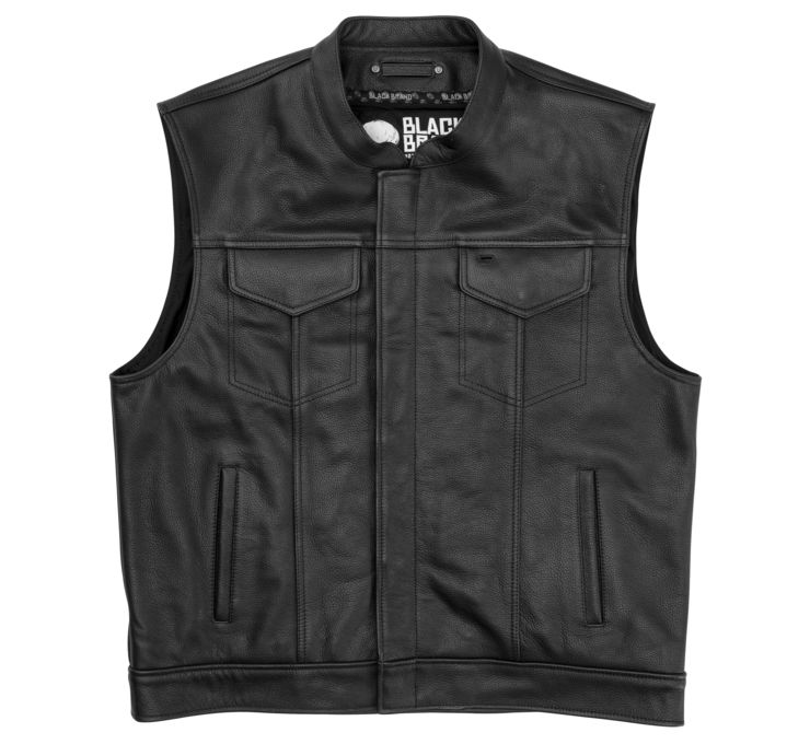 Men's Club Kooltek Leather Vest