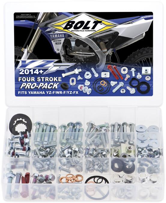 Bolt 170 Pc Yamaha YZ YZF Pro-Pack 2003-Present Factory Style Hardware Kit