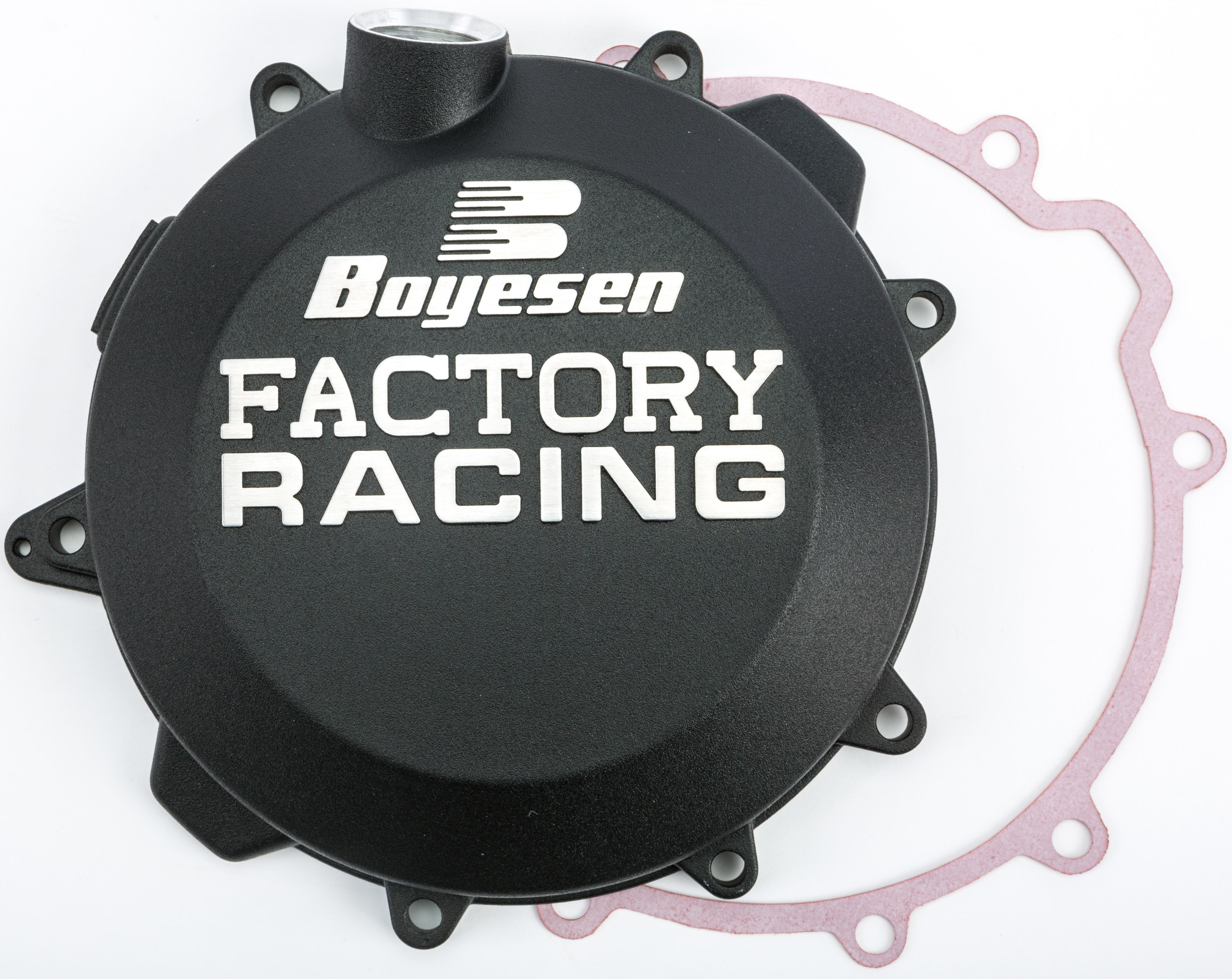 Boyesen CC-37B Black Factory Racing Clutch Cover