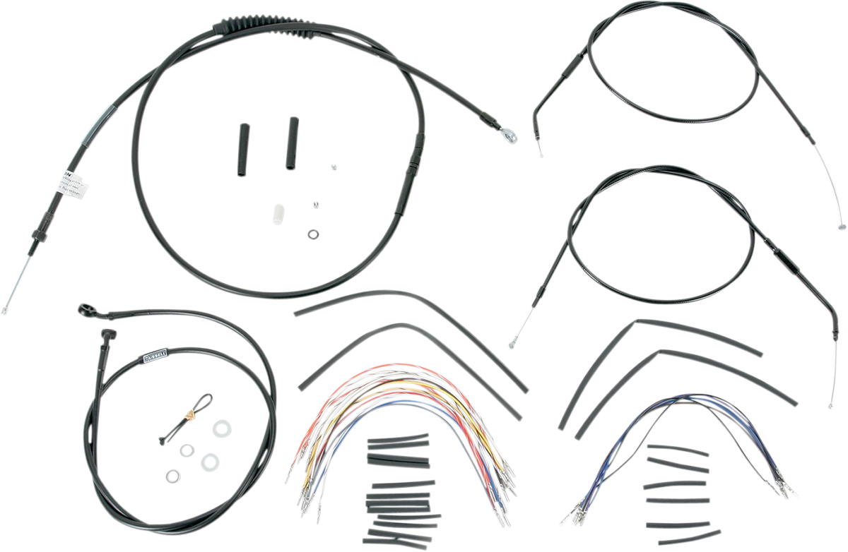 Burly Extended Cable/Brake Line Kit for Burly Ape