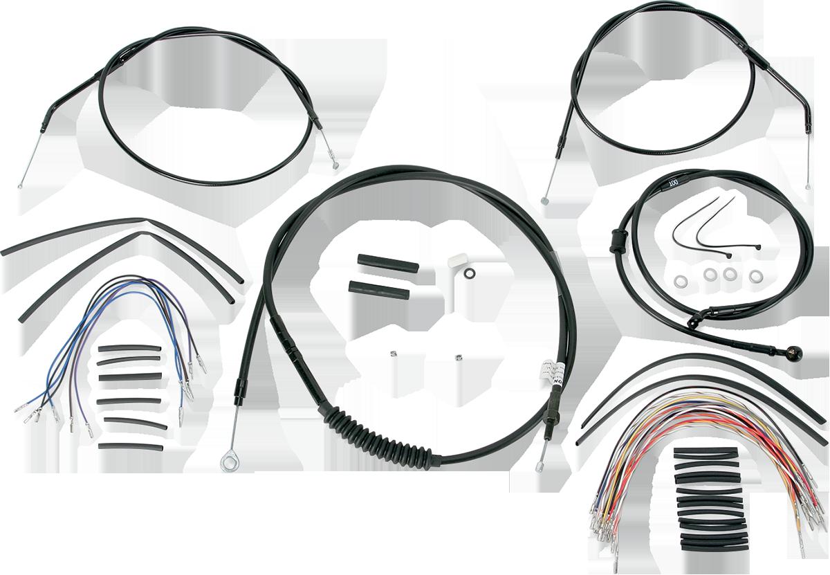 B30-1008 Extended Cable/Brake Line Kit for Burly Ape