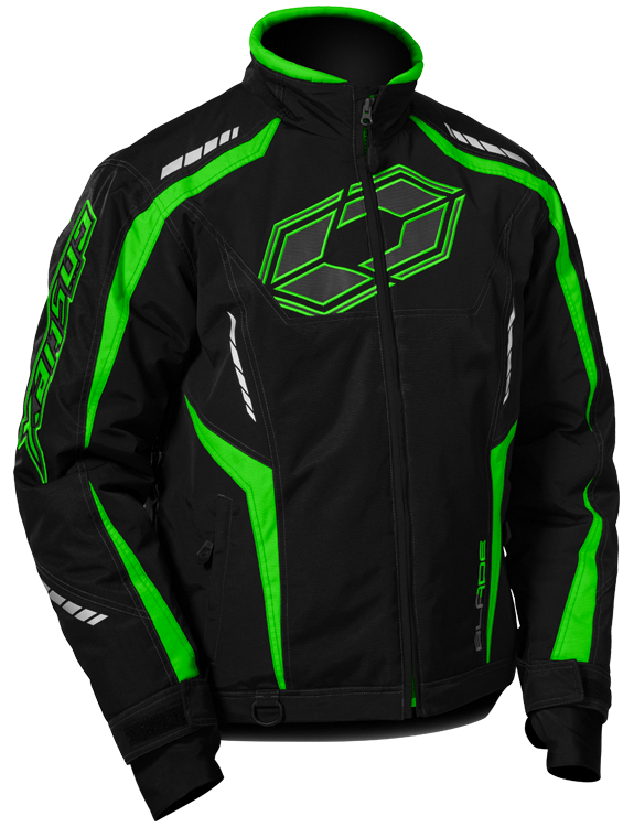 Castle-Mens-Blade-G3-Snowmobile-Cold-Weather-Winter-Snow-Jacket-Coat-Green-Black