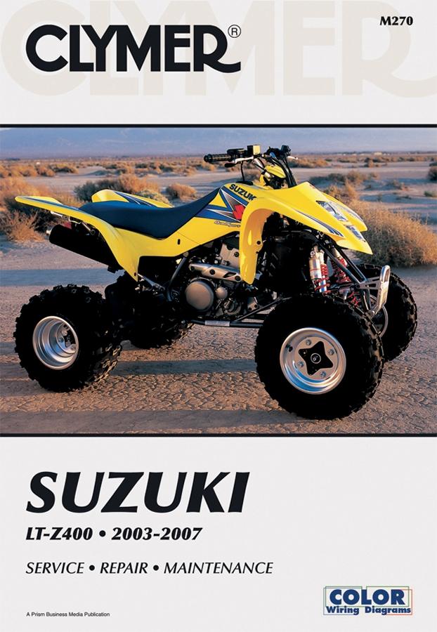 Clymer ATV Repair Manual for Suzuki LTZ400 03-07 M270-2