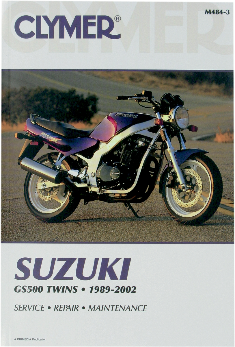 suzuki gs500e gs 500e 1989 1999 repair service manual