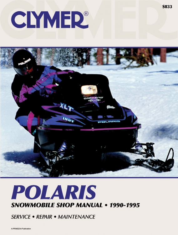 Details about NEW CLYMER S833 Service Manual for Polaris Indy Models