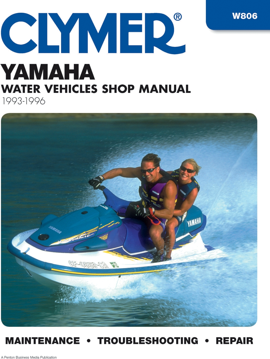 Clymer W806 Yamaha Water Vehicle Manual 4-Stroke Model - 2002-2009