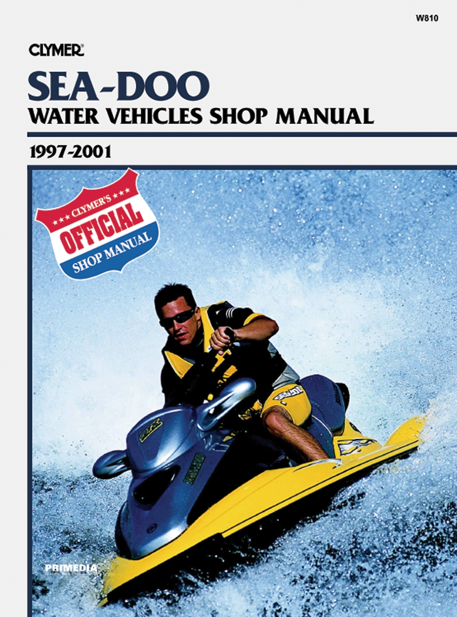 Clymer W810 Sea-Doo Watercraft Service Manual - 97-01
