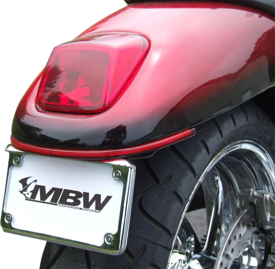 Custom Dynamics V-Rod Rear Led Turn Signal Kit Red//Clear #HDV240-RC