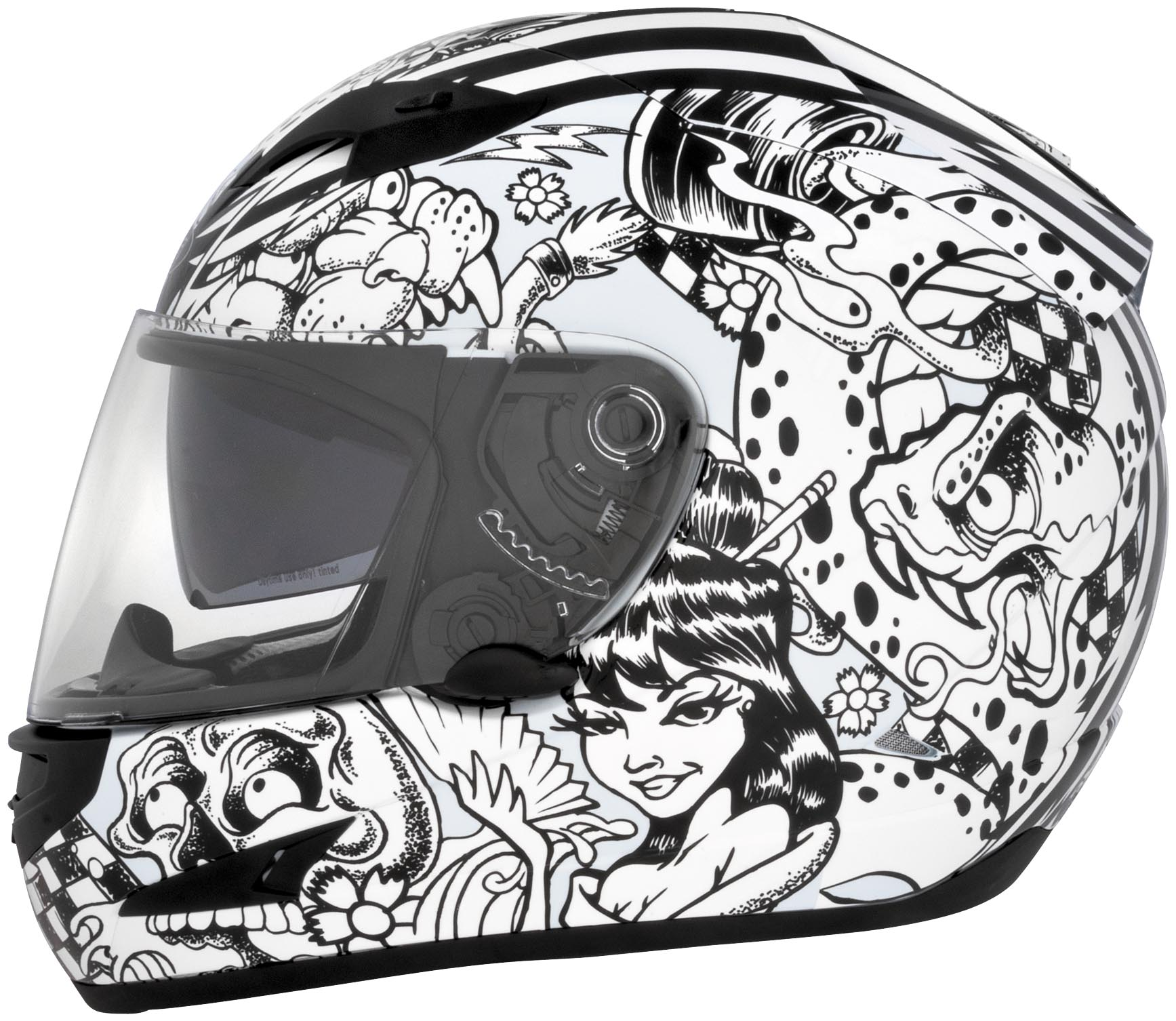US-97 Sharpie Graphics Helmet