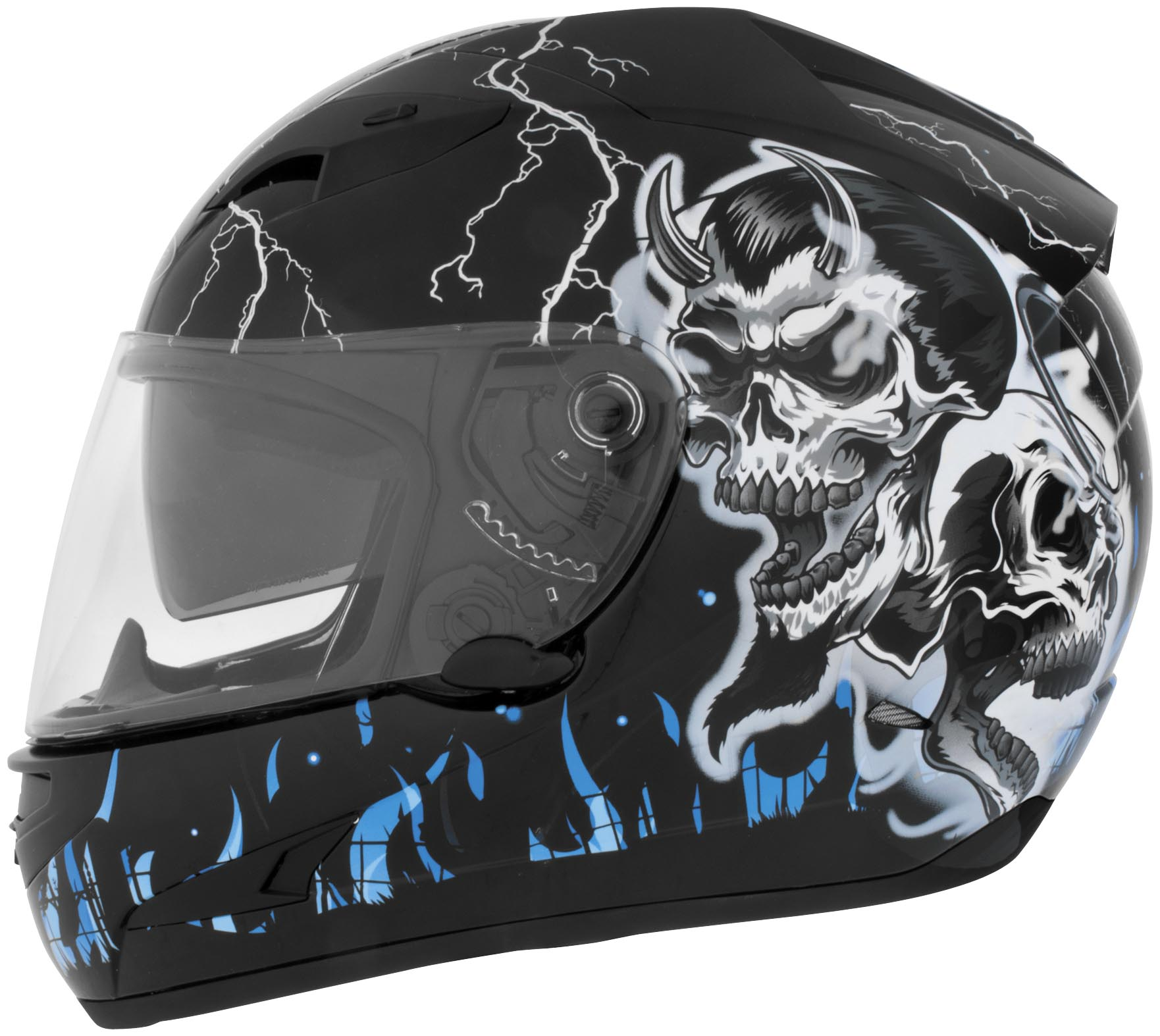 US-97 Good N Evil Helmet