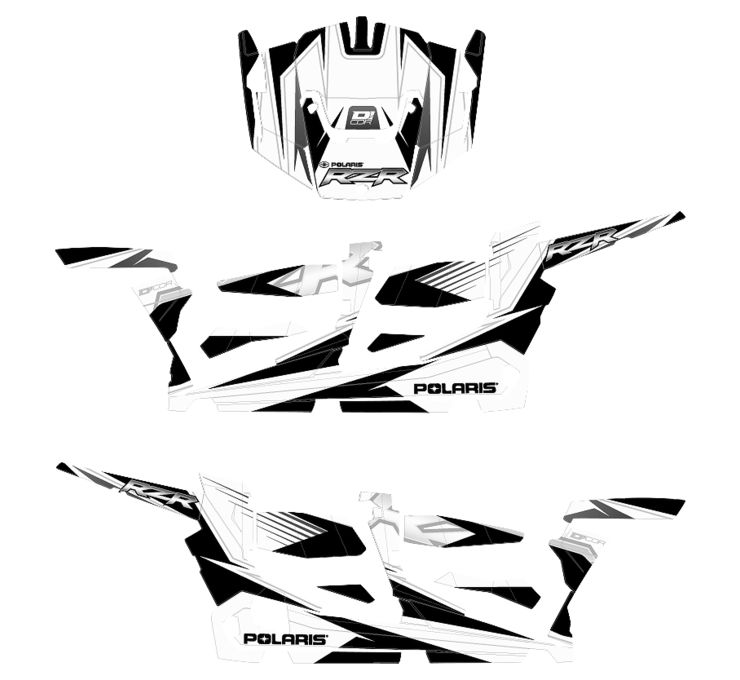 D'COR UTV Graphic Kits | Shop HVMC
