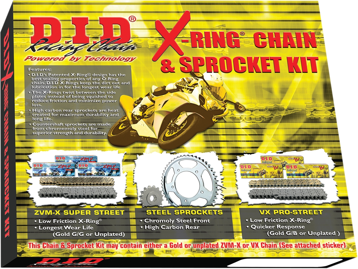 X-Ring Chain and Sprocket Kit