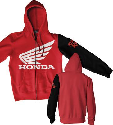 Honda Stamp Zip Hoody