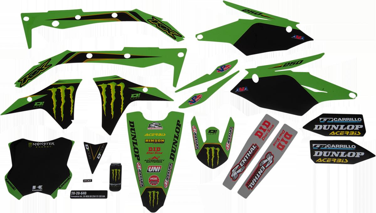 D 039 Cor 2020 Monster Energy Kawasaki Graphic Kits 20 20 640