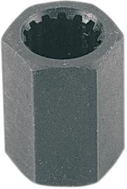 Splined 16mm Hex Impeller Removal Tool