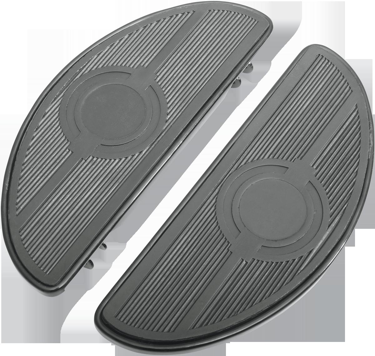 Drag Specialties Standard Mounts Passenger Floorboard Black  1621-0393