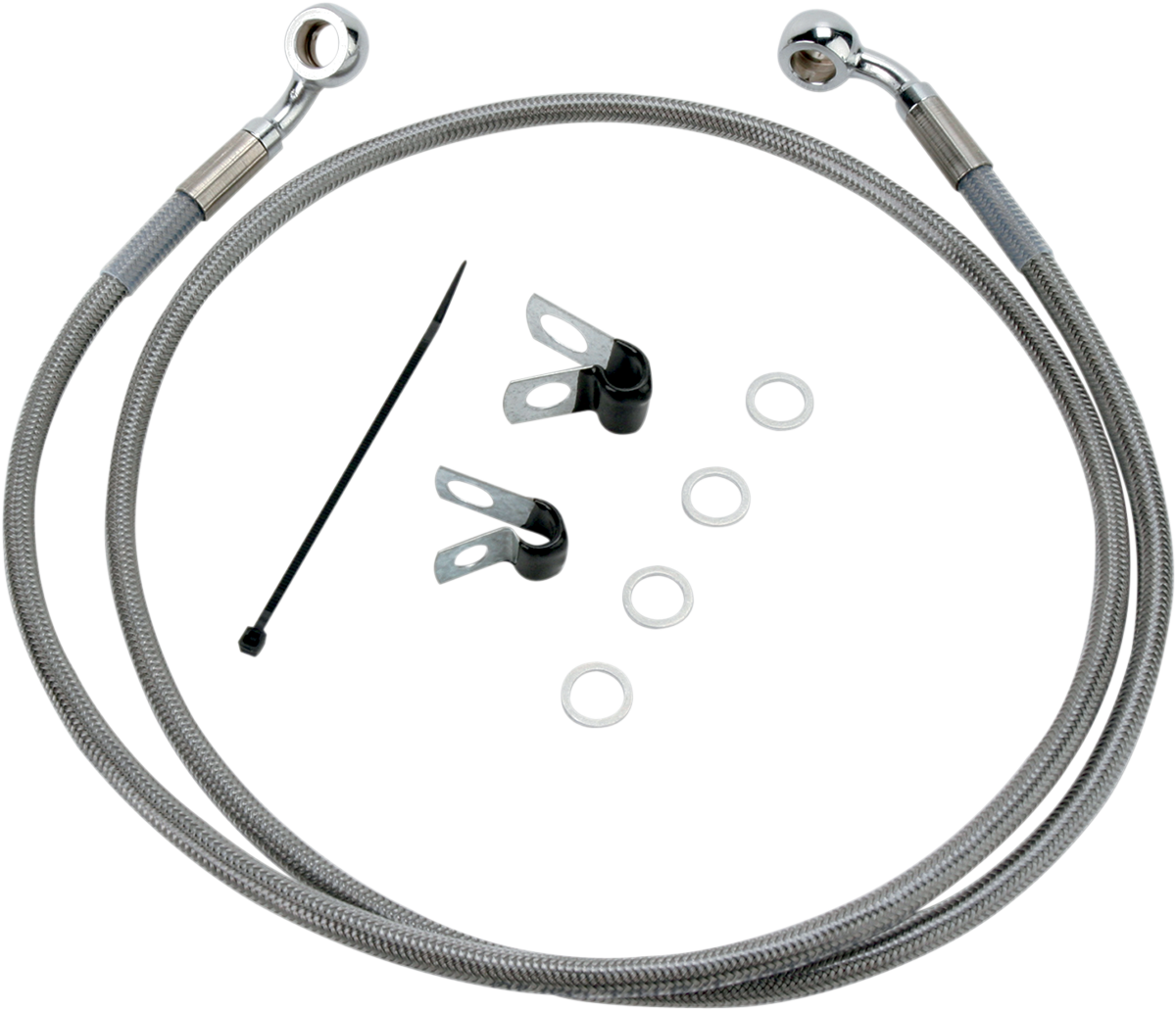 Drag Specialties 1741-2641 Extended Stainless Steel Front