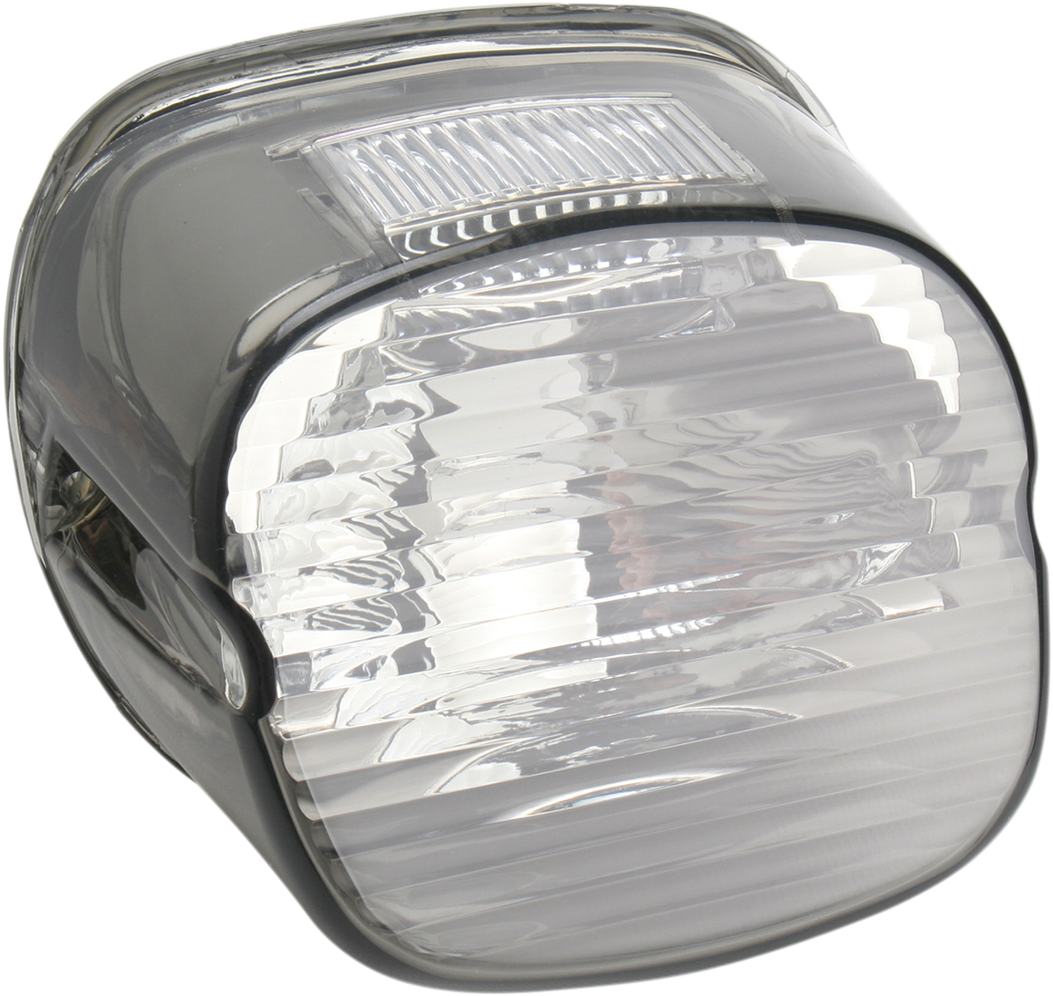 Drag Specialties 2010-0783 Laydown Taillight Lens with Bottom Tag Window Red