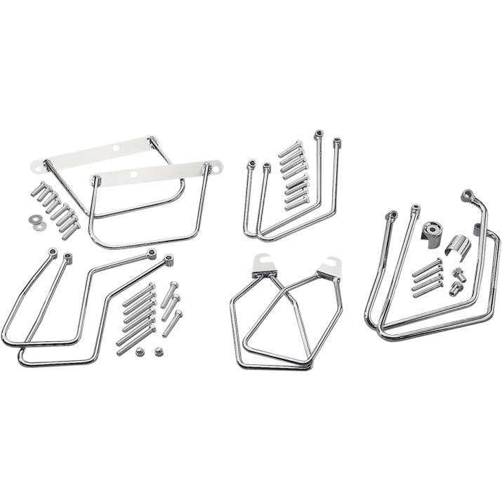 Drag Specialties DS-110845 Chrome Saddlebag Support