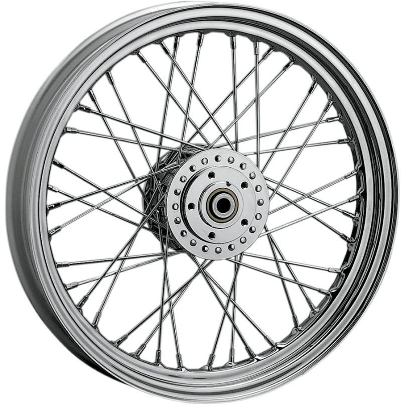 Drag Specialties 0203-0415 Front Laced Wheel 21in. x 2